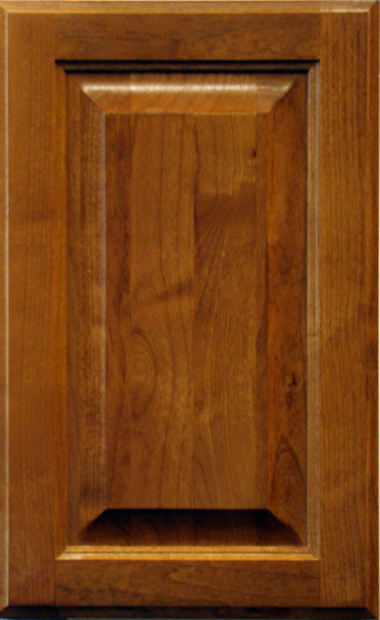 Alder Raised Panel - Caramel