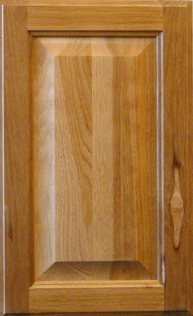 Hickory Raised Panel - LHB