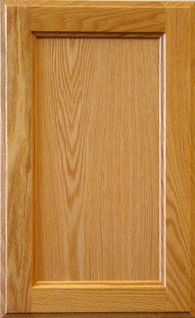 Oak Recessed Panel - Natural